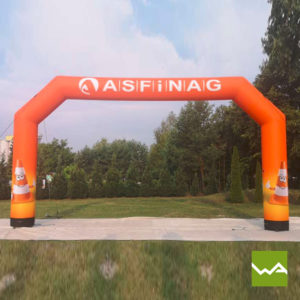 Pneu Torbogen - AIRMACHINE Arch - Asfinag