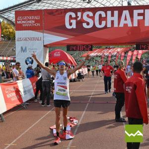 Endlosbanner - Werbebanner Vlies - München Marathon 4