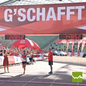 Endlosbanner - Werbebanner Vlies - München Marathon 3