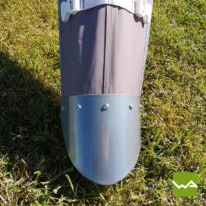 Sternzelt mit Aluminium Mast 6