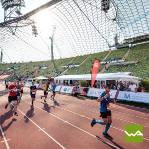 Endlosbanner - Werbebanner Vlies - München Marathon 2