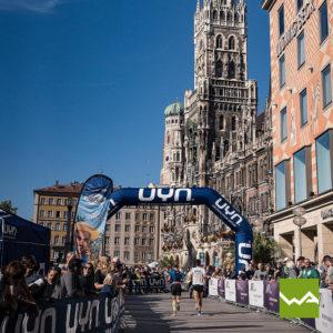 Endlosbanner - Werbebanner Vlies - München Marathon