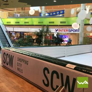 Aufblasbare Sonderform - Eislaufplatz SCW 4