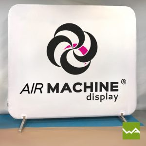 Pneu Messewand - AIRMACHINE Flat Display 2