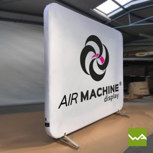 Pneu Messewand - AIRMACHINE Flat Display 1