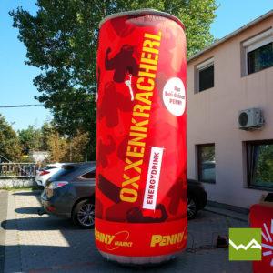 Aufblasbare Werbesäule XL Oxdenkracherl