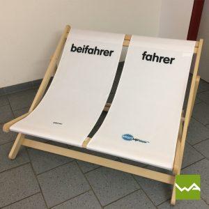 Doppel Liegestuhl - Fahrschule Doppler 6