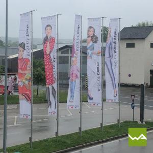 Werbefahnen Varena