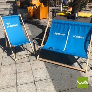 Liegestuhl - Doppelliegestuhl Fahrschule Doppler