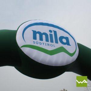 Aufblasbarer Werbebogen - Torbogen Mila