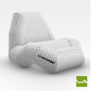 Aufblasbarer Sessel - Airmachine Chair 4