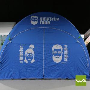 Pneu Werbezelt - Aufblasbares Zelt Semperit 3
