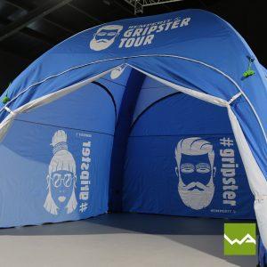 Pneu Werbezelt - Aufblasbares Zelt Semperit 2