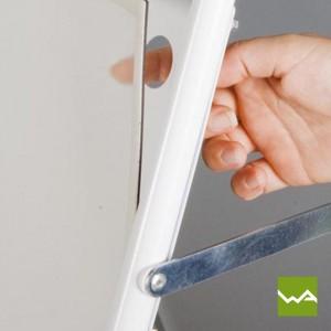 Kundenstopper WETTERFEST - Magnetfolie 1