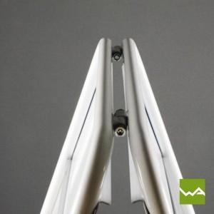 Kundenstopper WETTERFEST - Stahlrohr 2