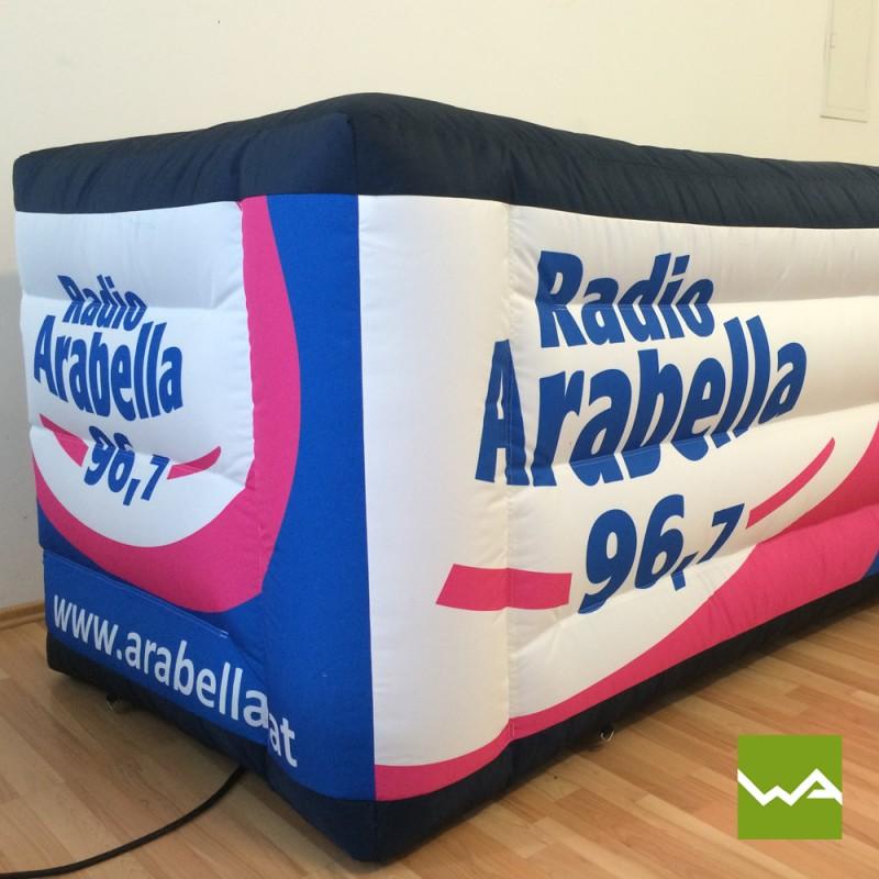 DJ Pult von Radio Arabella 4
