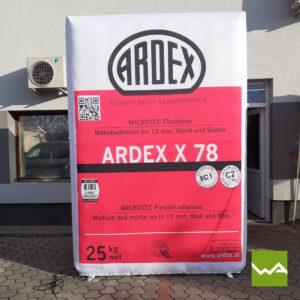 Aufblasbare Werbewand Ardex