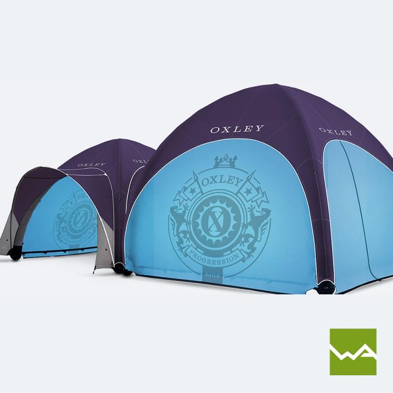 Pneu Werbezelt / GYBE Event Tent – Oxley