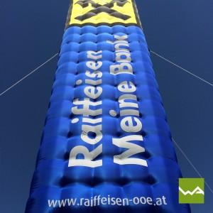Einzigartige Werbeträger – Raiffeisenbank 5