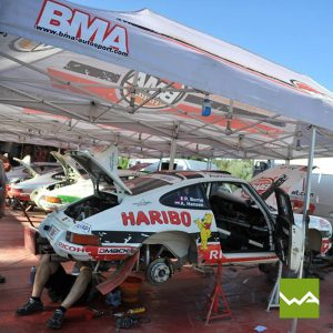 BMA Autosport Faltpavillon