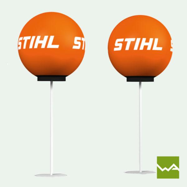 Pneu Leuchtballon Stihl