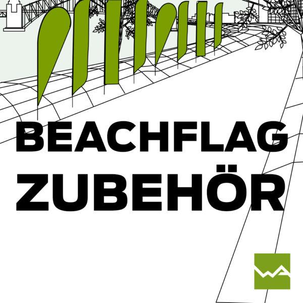 Beachflag Zubehör Titelbild