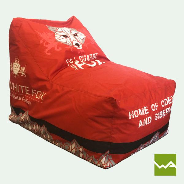 Beanbag Chair Titelbild White Fox