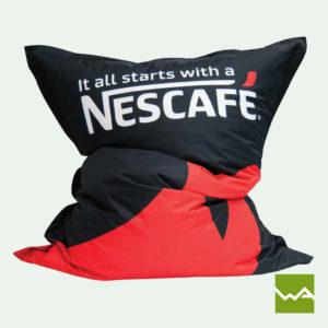 Sitzsack Original - Sitzsack bedruckt Nescafe