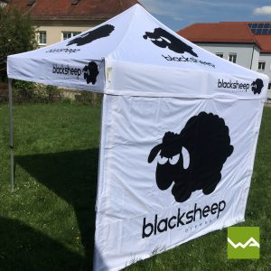 Faltzelt - Black Sheep 4