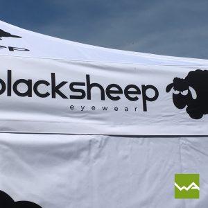 Faltzelt - Black Sheep 3