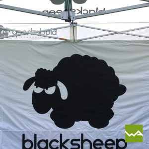 Faltzelt - Black Sheep