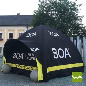 Aufblasbares Werbezelt - GYBE Event Tent - BOA 3