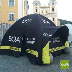 Aufblasbares Werbezelt - GYBE Event Tent - BOA