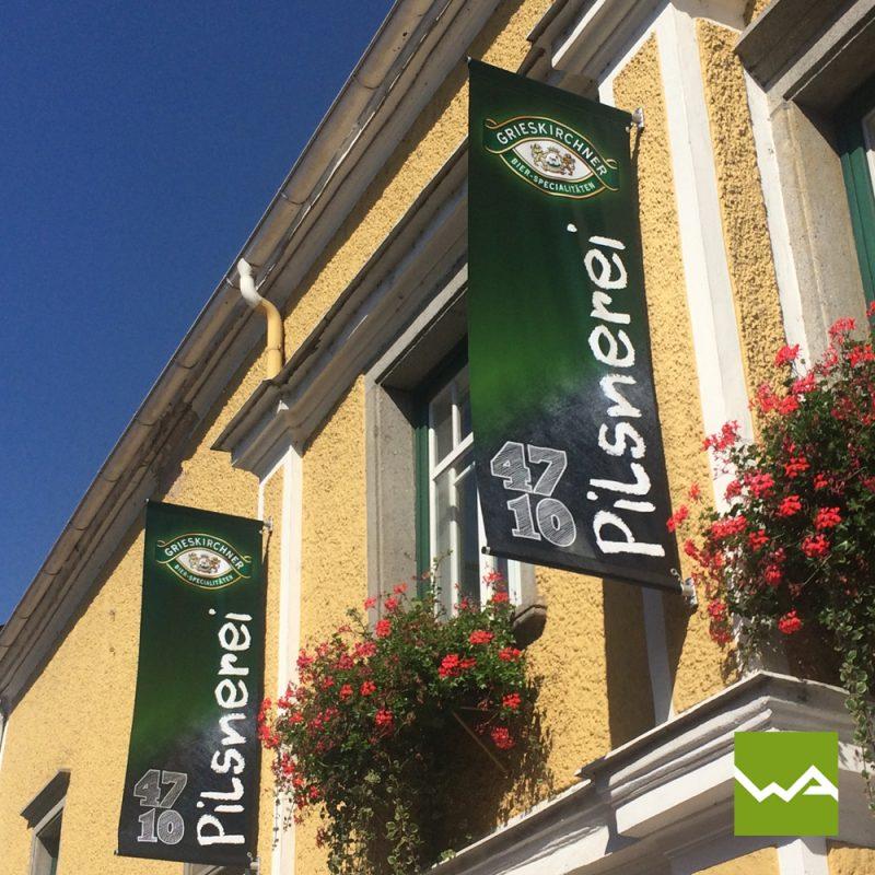 Street Banner / Straßenbanner - Brauerei Grieskirchen 2