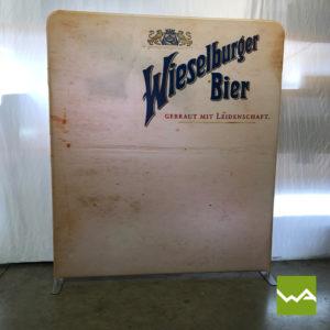 Zipper Praesentationswand Straight - Wieselburger Bier