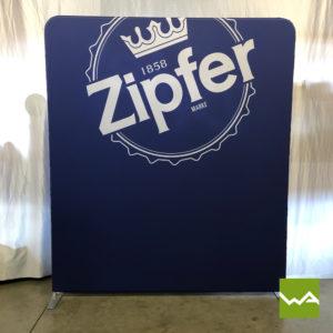 Zipper Praesentationswand Straight - Zipfer