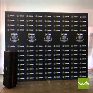 Beleuchtete Werbewand BIGLEDUP Rookies Cup 2
