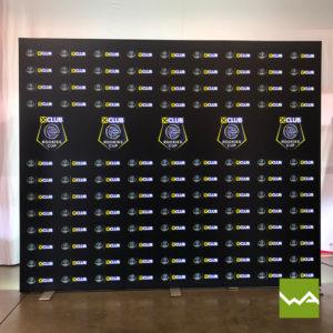 Beleuchtete Werbewand BIGLEDUP Rookies Cup 3