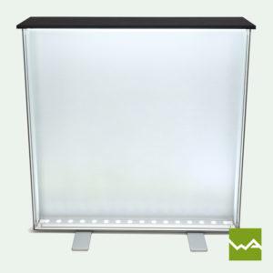 Messetheke für LED Leuchtkasten Lightbox 5