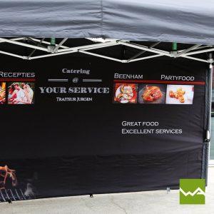 Catering und Servicezelt 2 Faltpavillon