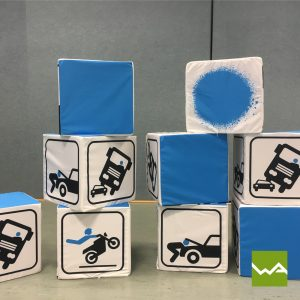 Sitzwürfel EXCLUSIVE - Fahrschule Start up 3