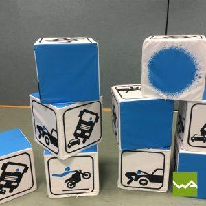 Sitzwürfel EXCLUSIVE - Fahrschule Start up 2