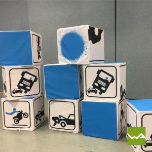 Sitzwürfel EXCLUSIVE - Fahrschule Start up