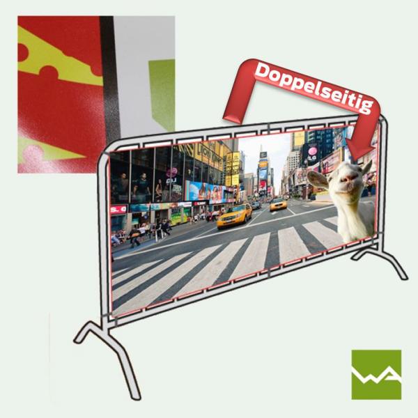 Doppelseitige Werbebanner PVC / Werbeplanen / PVC Banner