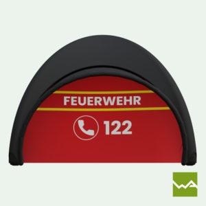 Pneu Schnelleinsatzzelt - AIRMACHINE Emergency Tent - Detailbild 4