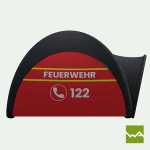 Pneu Schnelleinsatzzelt - AIRMACHINE Emergency Tent - Detailbild 3