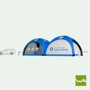 Pneu Schnelleinsatzzelt - AIRMACHINE Emergency Tent - Detailbild 12