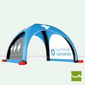 Pneu Schnelleinsatzzelt - AIRMACHINE Emergency Tent - Detailbild 11