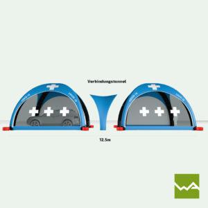 Pneu Schnelleinsatzzelt - AIRMACHINE Emergency Tent - Detailbild 8