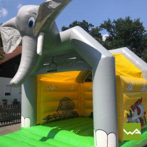 Elefanten Hüpfburg 3
